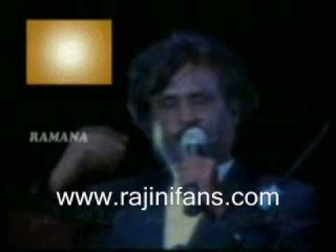 Rajini speech on Ramana Sri at Singapore (1992)