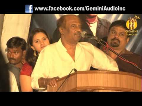 Super Star Rajinikanth requests his fans to take care their parents